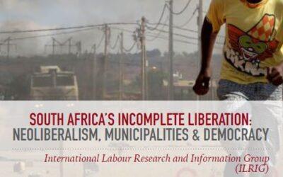 Municipalities, Neoliberalism and Democracy
