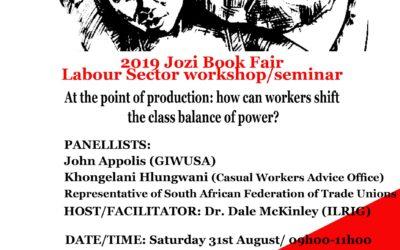 Labour Sector Seminar