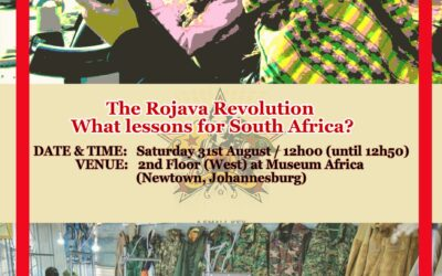 The Rojava Revolution: What lessons for South Africa?