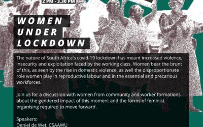 Women Under Lockdown