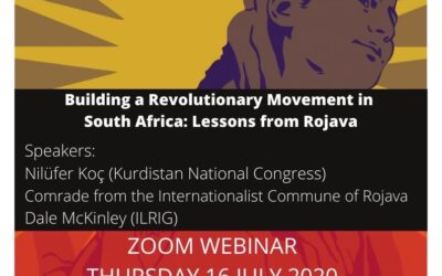 Webinar: Building a Revolutionary Movement in South Africa: Lessons from Rojava