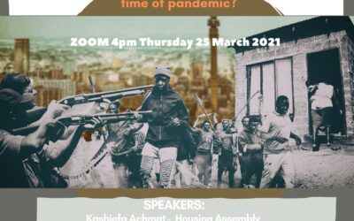 Webinar: Housing Struggles – What is their significance for movement building in the time of pandemic?