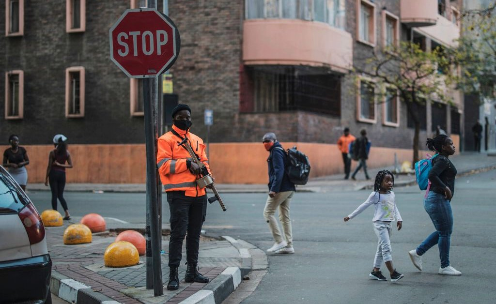 South Africa's new lockdown regulations explicitly ban all 'political gatherings'