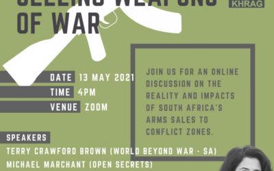 Webinar: Smoking Gun – South Africa Selling Weapons of War