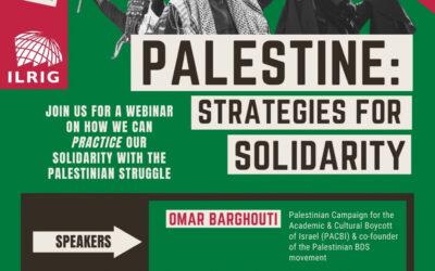 Webinar: Palestine – Strategies for Solidarity